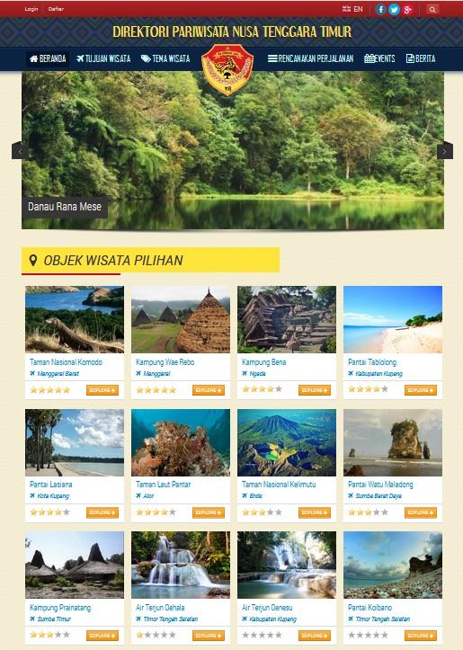 sistem informasi pariwisata e-tourism dan webgis pariwisata