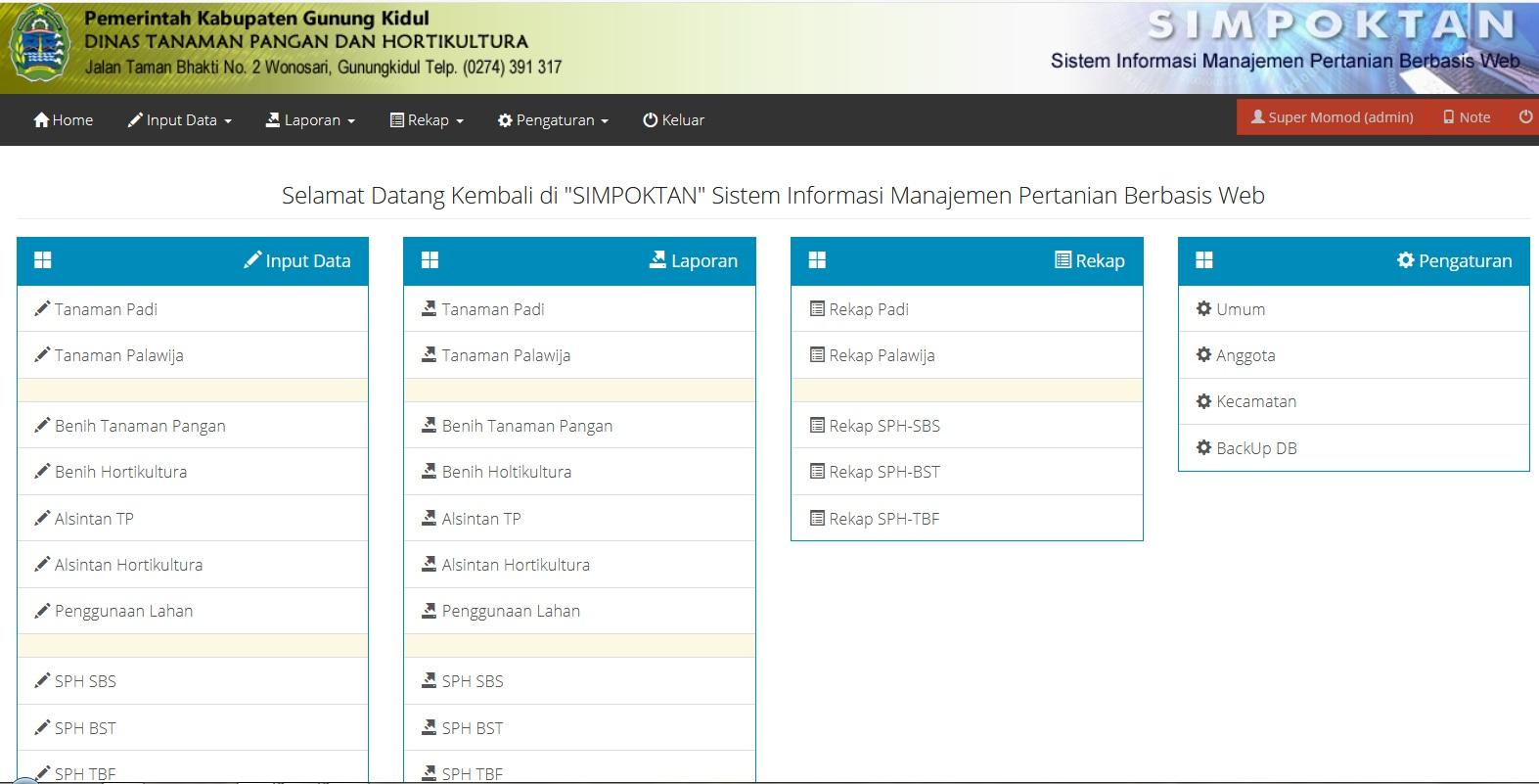 Sistem informasi manajemen pertanian technophoria indonesia